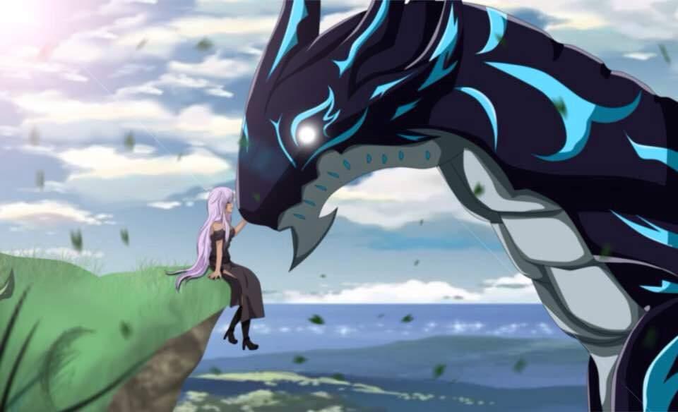 Acnologia Vs Kurama   Anime Amino