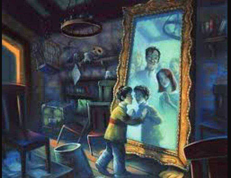 Mirror Of Erised Ii By Barbora TŐgel: Mirror Of Erised Challenge