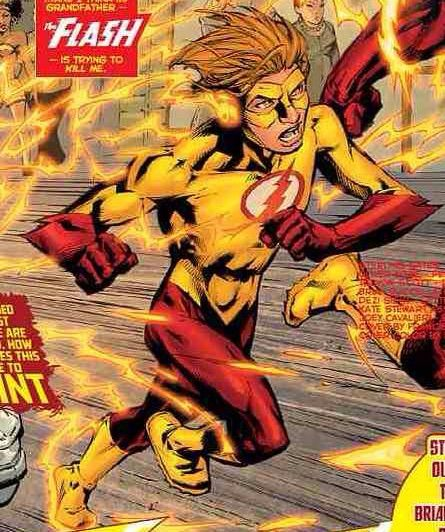 Bart allen kid flash new 52