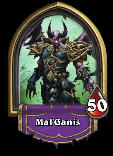 Mal 39 ganis solo adventure hero hearthstone amino - Demonwrath hearthstone ...