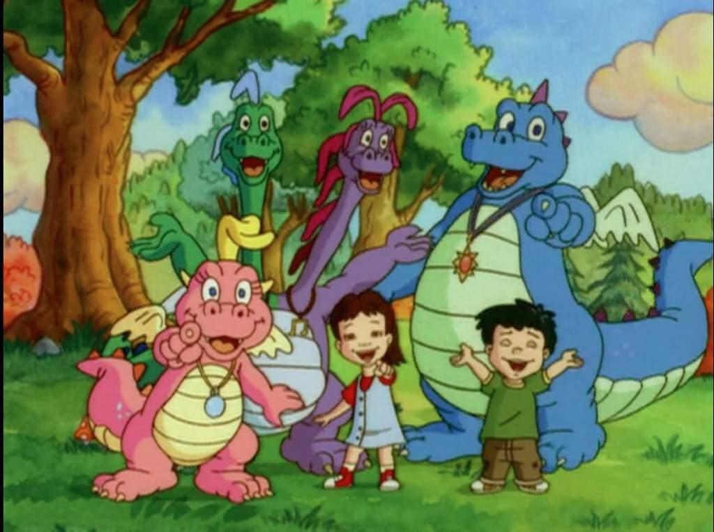 Dragon tales cartoon