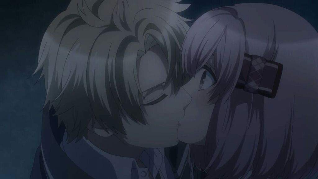 Kiss scene KOHARU X KAKERU | Anime Amino