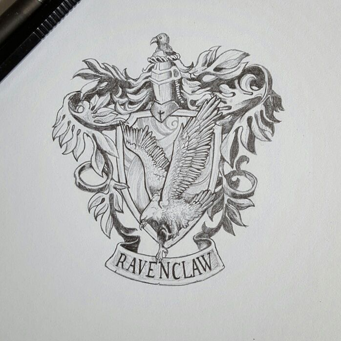 Ravenclaw crest | Harry Potter Amino
