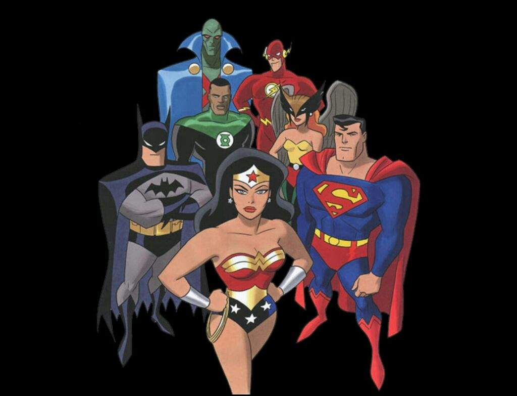 Cartoon Characters Justice League : Justice league animated series comiccartoonchallenge