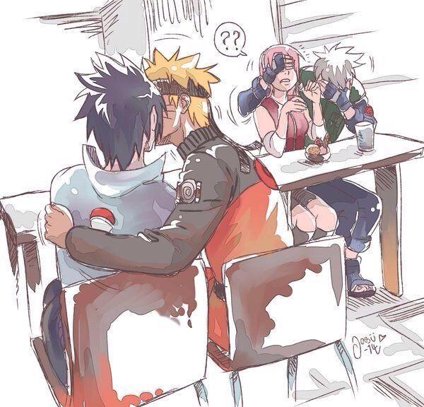 Naruto nude sex sitting sitting_on_lap sitting_on_person straddling uchiha_sasuke upright_straddle uzumaki_naruto