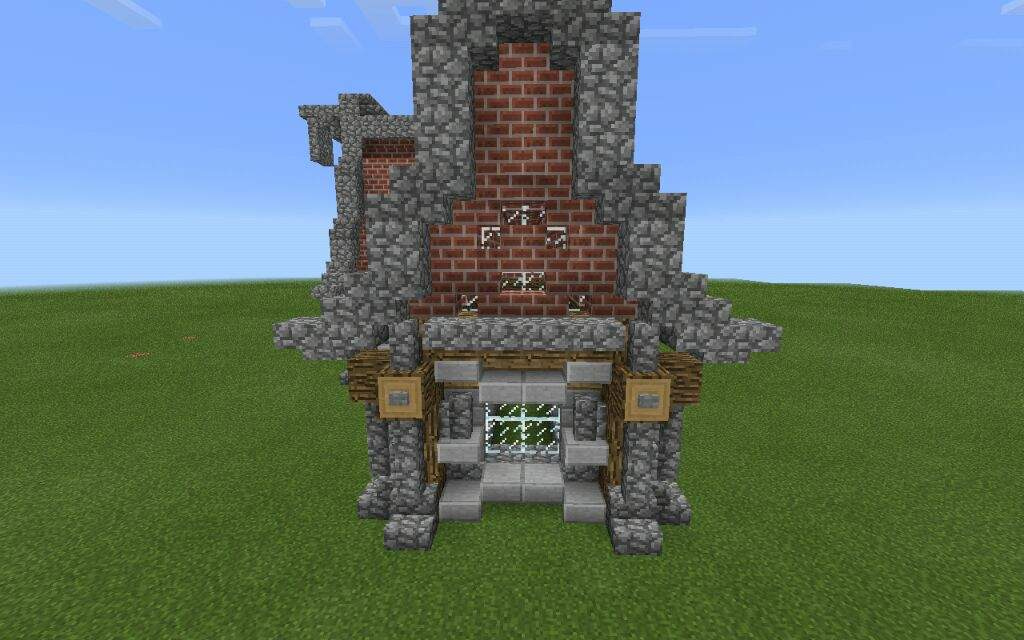 how to build a small medieval house in minecraft