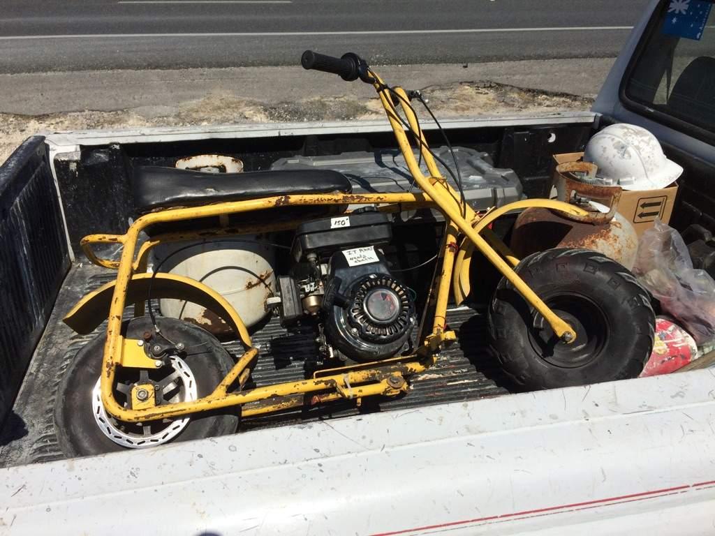 Go kart/ mini bike build stage 5 | Garage Amino