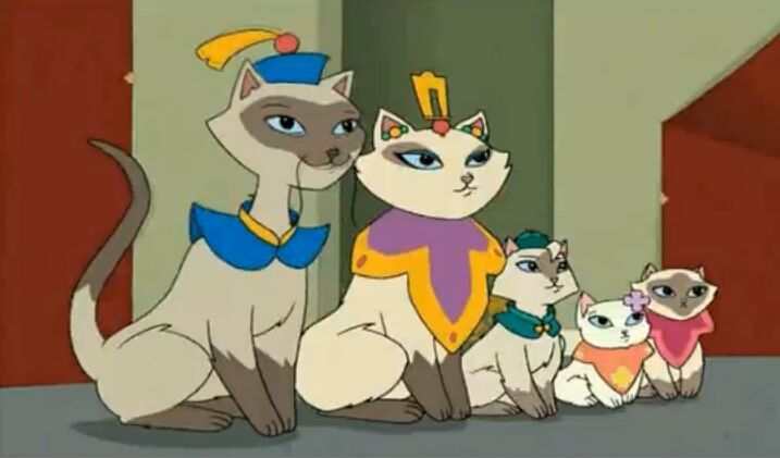 Sagwa the chinese siamese cat cartoon amino - Cat cartoon shows ...