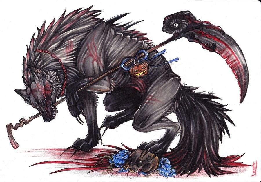 Wolf Demon Species Half Bloods Virtual Space Amino