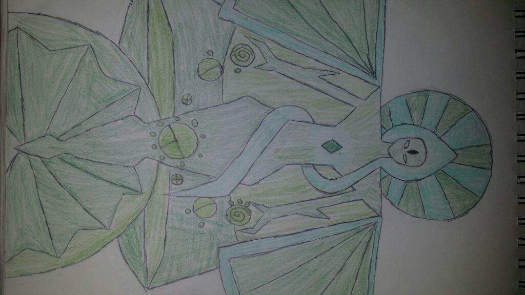 Green diamond mural cartoon amino for Yellow diamond mural