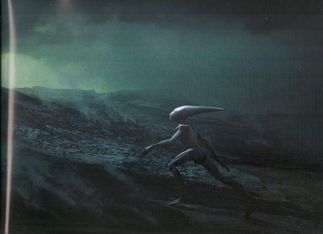 The deacon virtual space amino for Prometheus xenomorph mural