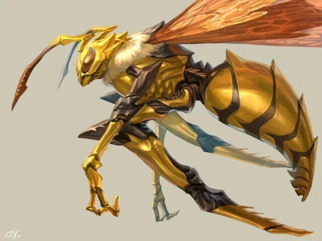 Wasp by Spidaur on DeviantArt