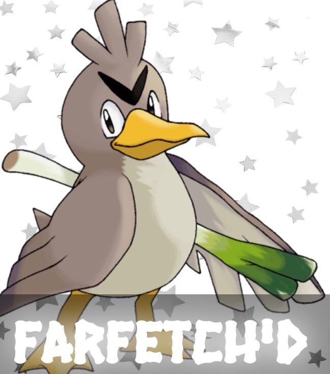 All The Pokemon Farfetch 27d Images