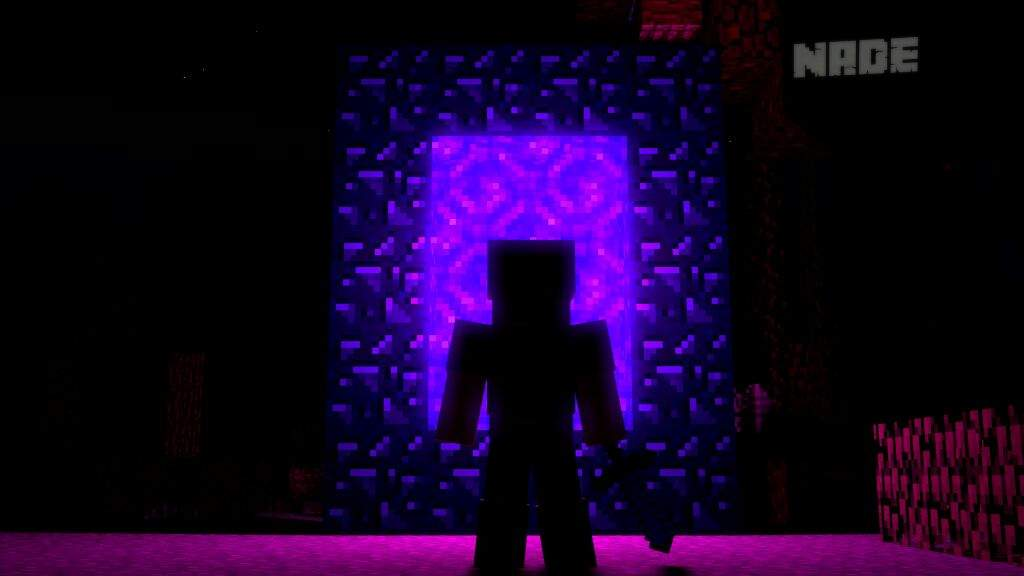 Nether Portal Render Minecraft Amino