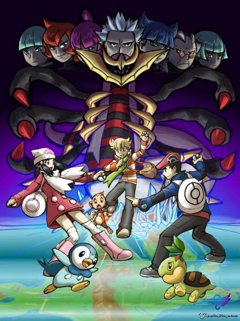 Greatest generation of pok mon pok mon amino - Pokemon platine legendaire ...
