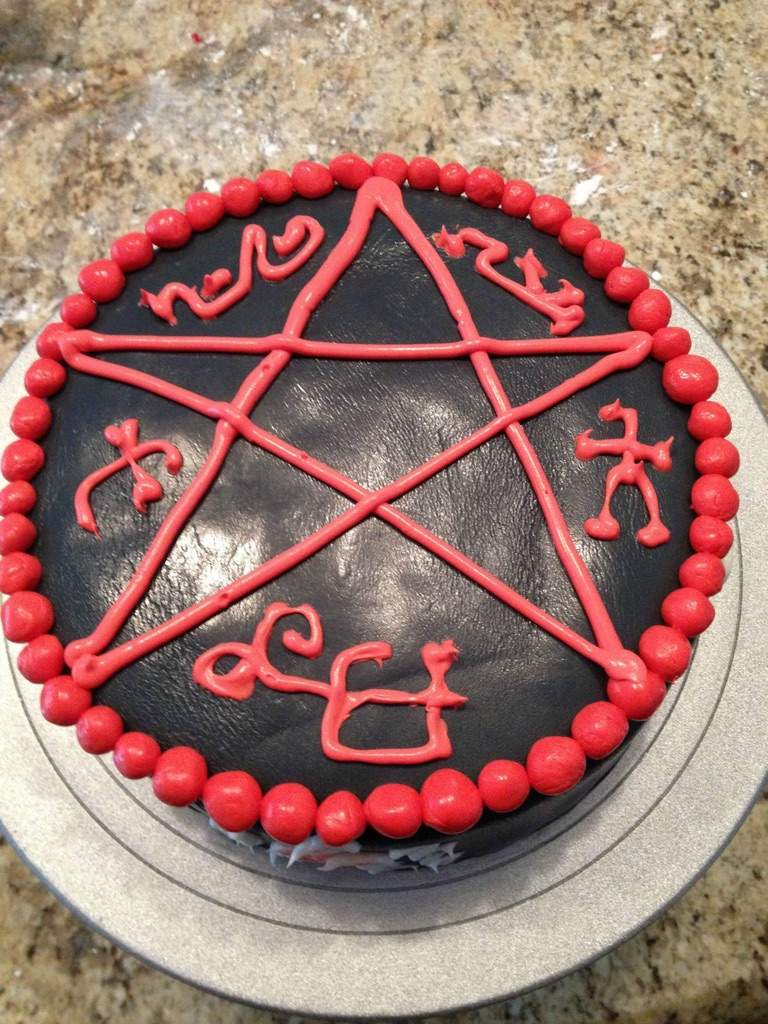 Cool Supernatural Cake Ideas