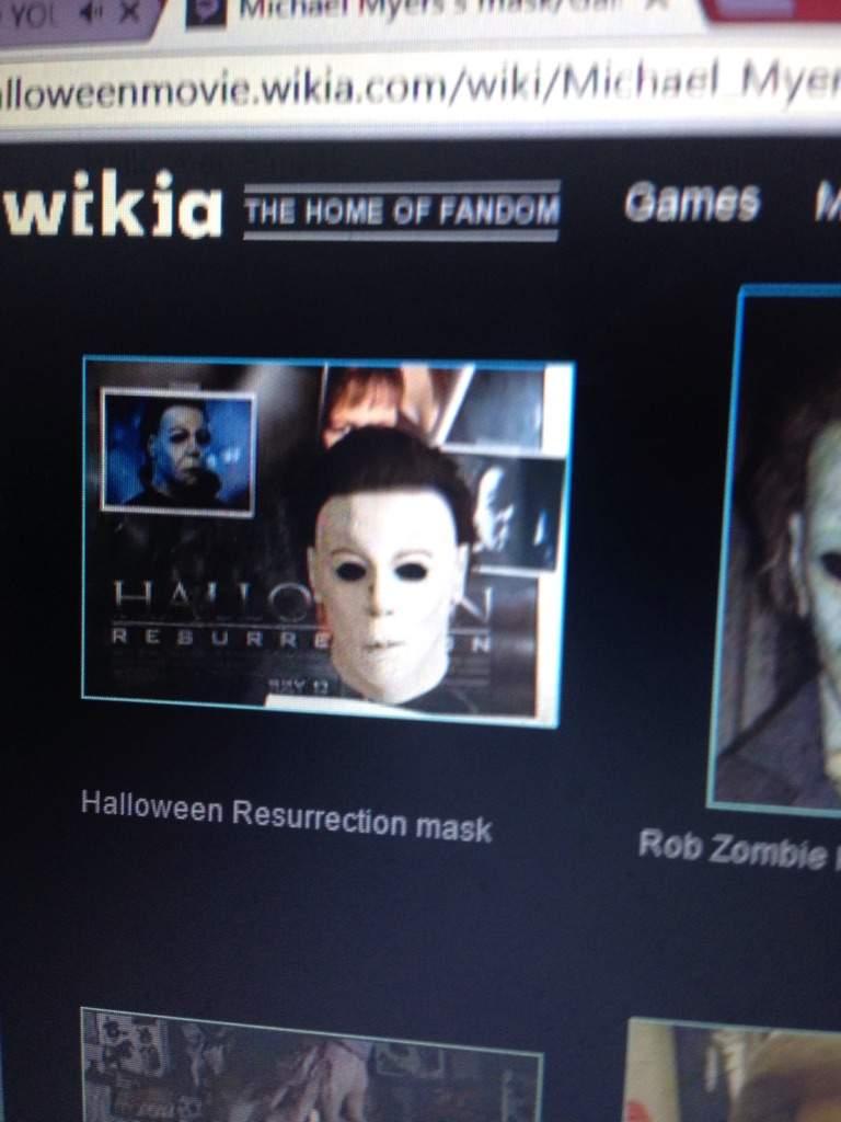favorite Michael Myers mask | Horror Amino