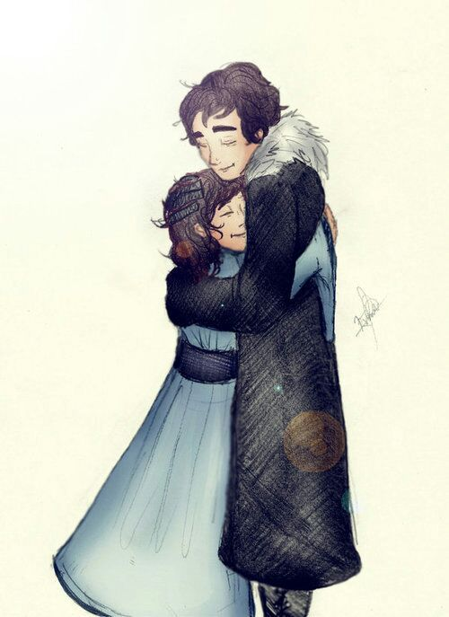 arya stark and jon snow relationship
