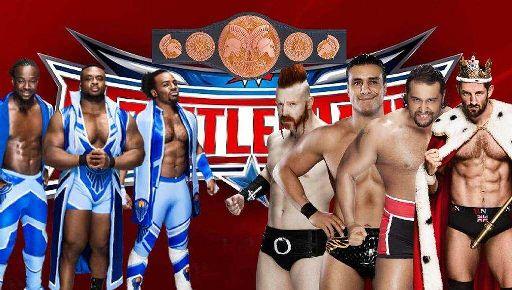 Wrestlemania 32 New Day Vs League Of Nations Wrestling Amino