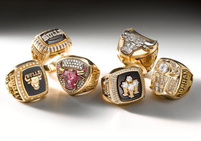 Chicago Bulls Championship Ring
