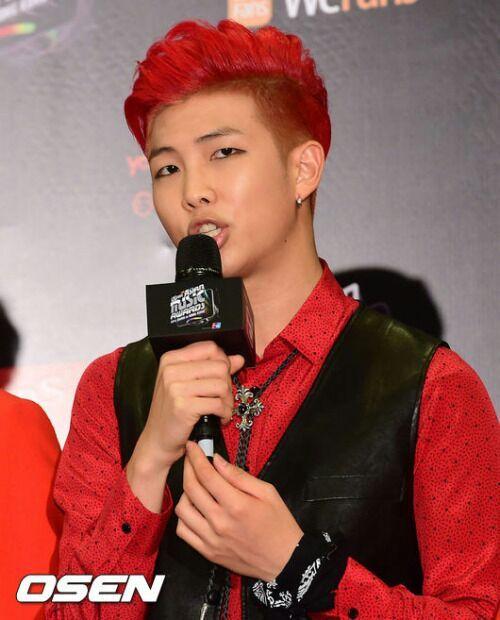 Red Kpop Hair K Pop Amino
