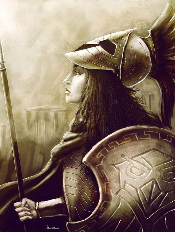 Athena the Goddess of War   Virtual Space Amino
