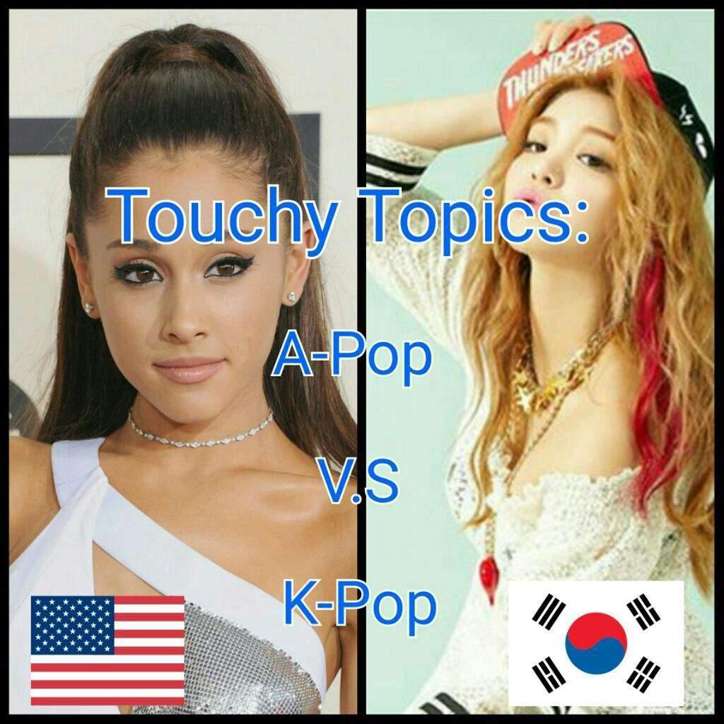 Kpop vs American Pop?