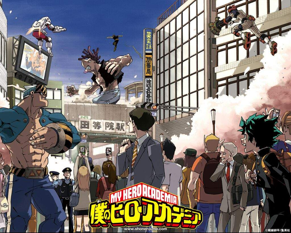 Boku no hero academia review brutal gamer -  Is Gonna Look Like Also What The Op Song Is Gonna Sound Like I Hope Its Good And Catchy Same Goes The Ed So Best Wishes To Boku No Hero Academia