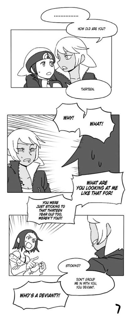 Dating a Team Magma Grunt Doujinshi 9