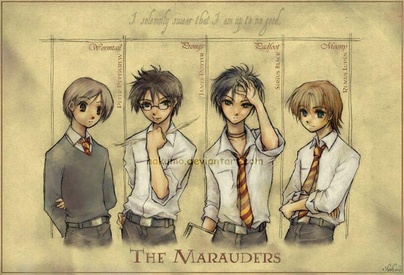 Prongs Harry Potter