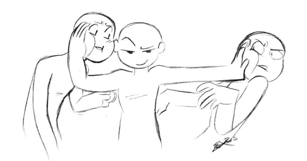 how to draw someone taking a selfie