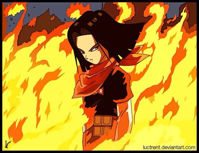 Image result for android 17 and uub