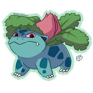 Draw All The Pokemon In Color 002 Ivysaur