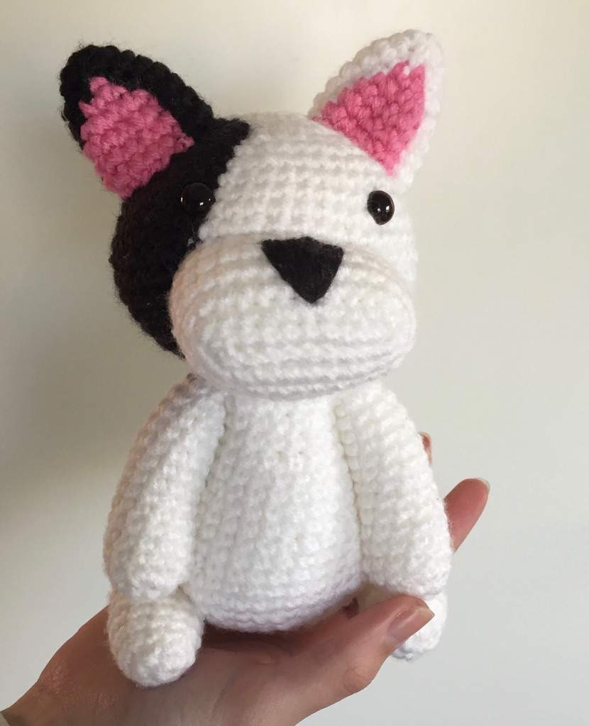 French Bulldog Crochet Pattern, Crochet Dog Pattern, Crochet ... | 1024x830