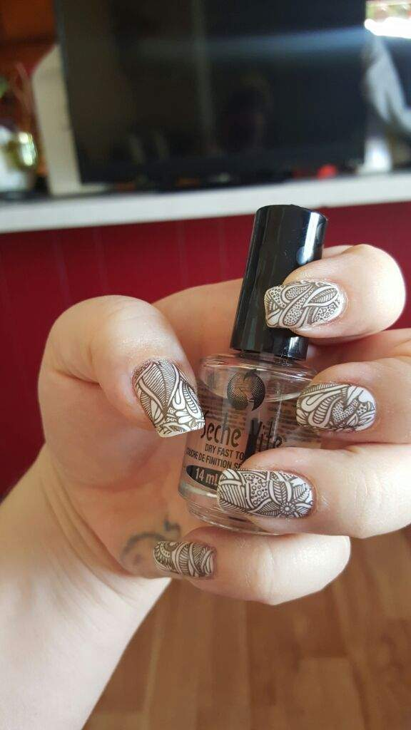 Adult Coloring Book Nails.