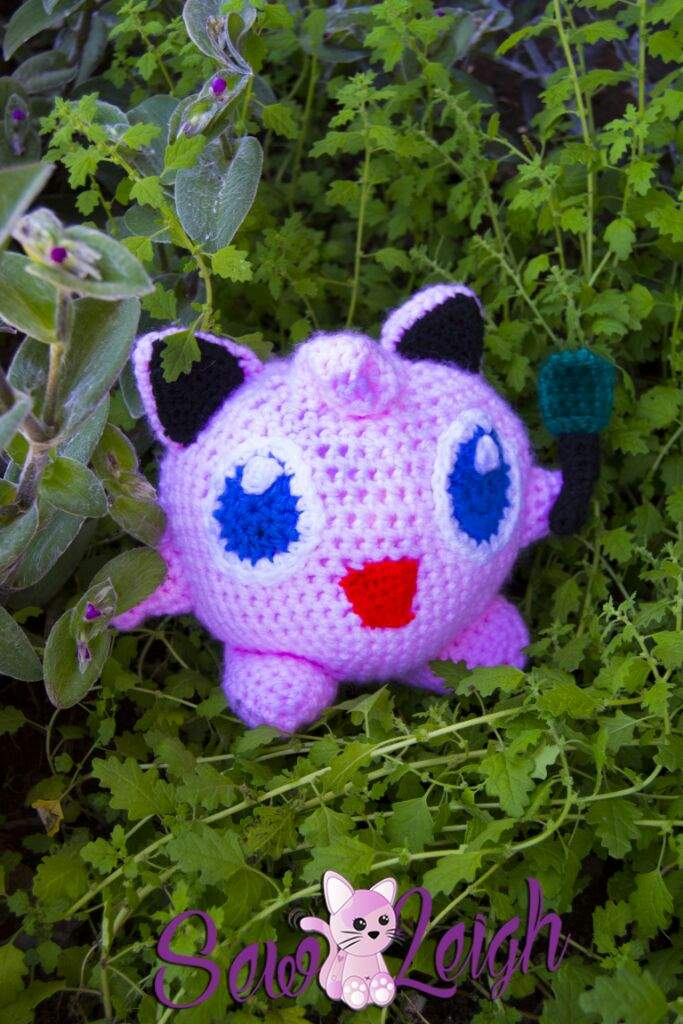 Amigurumi Jigglypuff Pattern : Jigglypuff Amigurumi with mike (pattern will be released ...