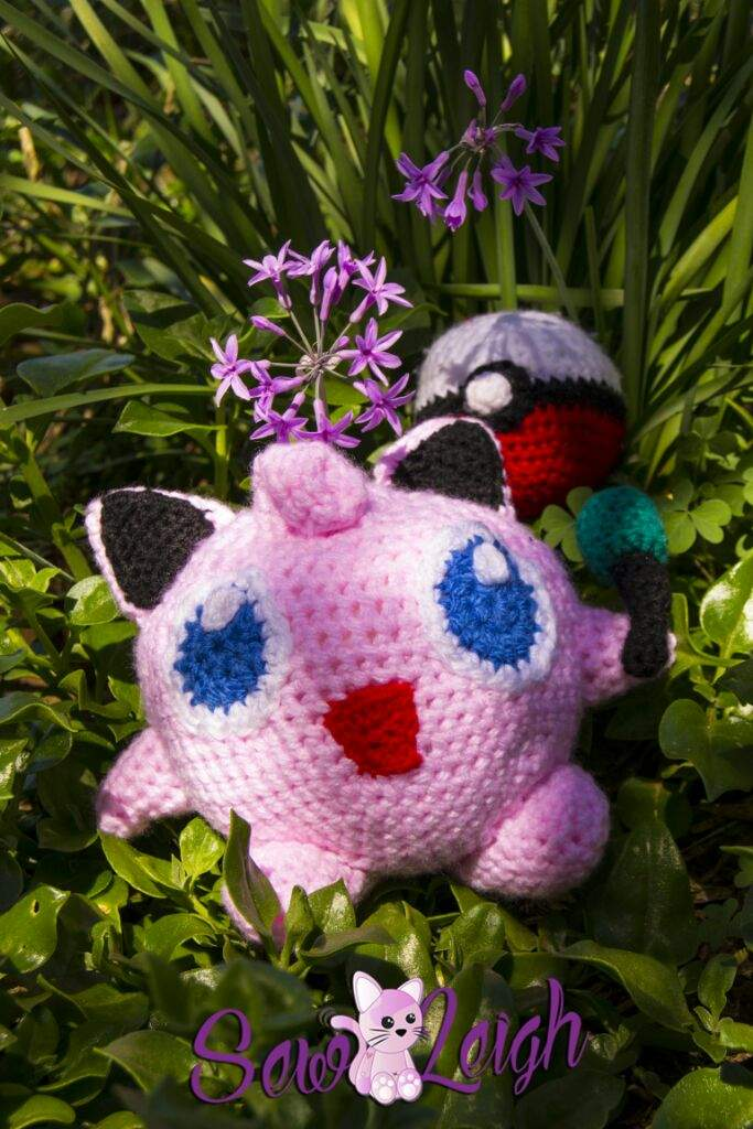 Jigglypuff Amigurumi with mike (pattern will be released ...