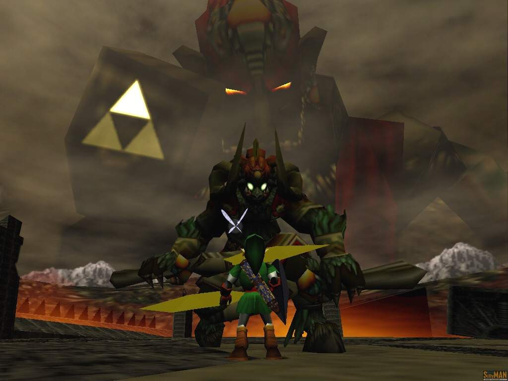 Does Ocarina Of Time Still Have The Goat Final Boss Segment