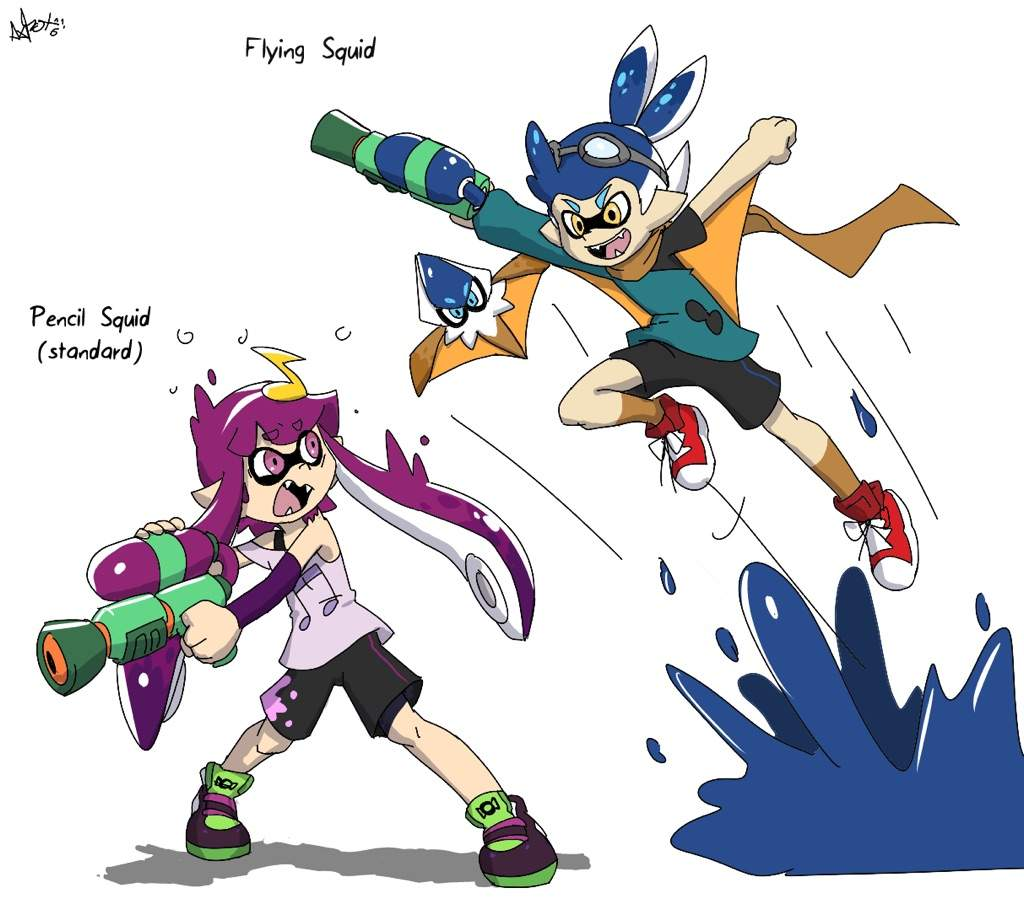 When You Re Playing Splatoon Always Jump After Your Enemy