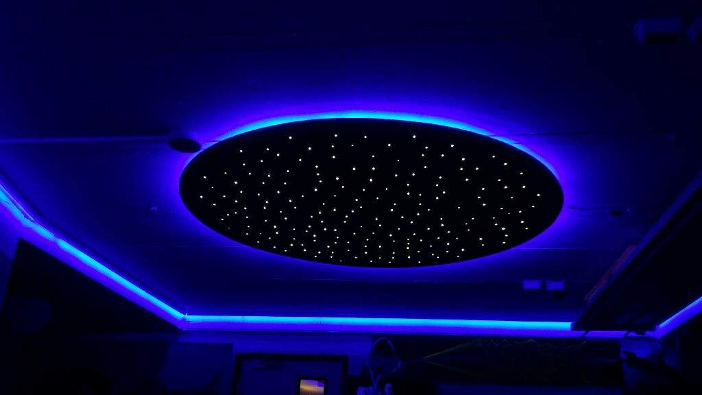 Infinity mirrors, star ceiling and led lighting   Maker Amino
