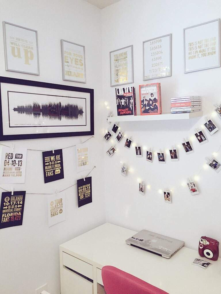 More 1d room goals directioners amino for Bedroom wall designs tumblr