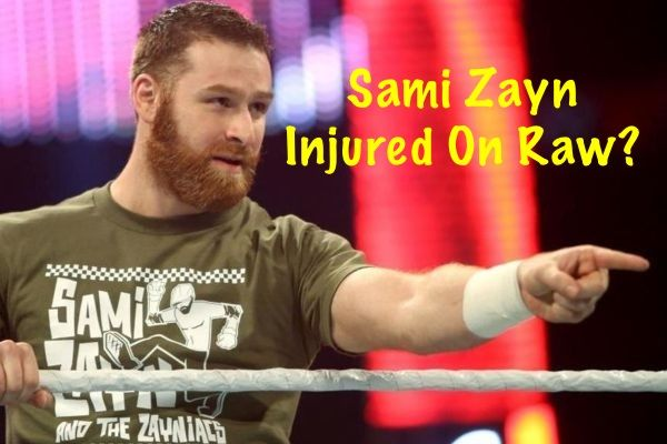WWE RAW: Sami Zayn Invades The Red Brand, TLC Match
