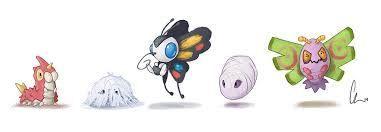Silcoon & Cascoon   The Elements   Pokémon Amino  Silcoon & Casco...