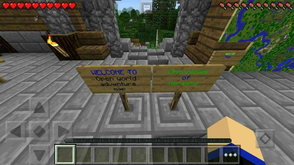 Chronicles Of Meraghyl Mcpe Adventure Map Part 1