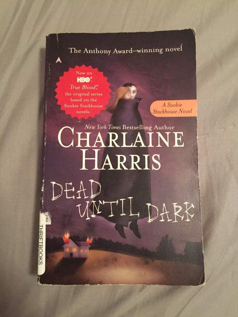 1 Dead Until Dark By Charlaine Harris I Got This Book In Acceptable  Condition And It Doesn't Look To Bad The Cover Is Bind A Little And The  Spine Is A