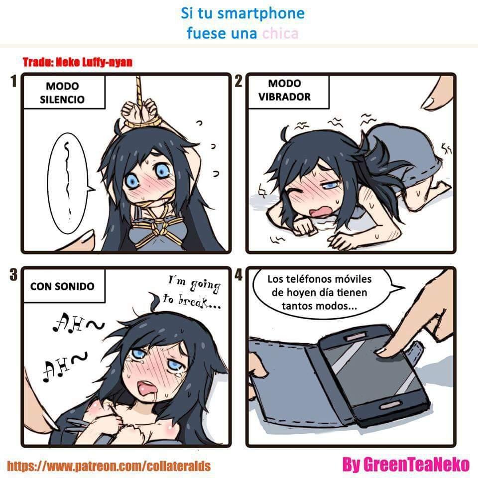 Phone girl anime amino - Anime girl on phone ...