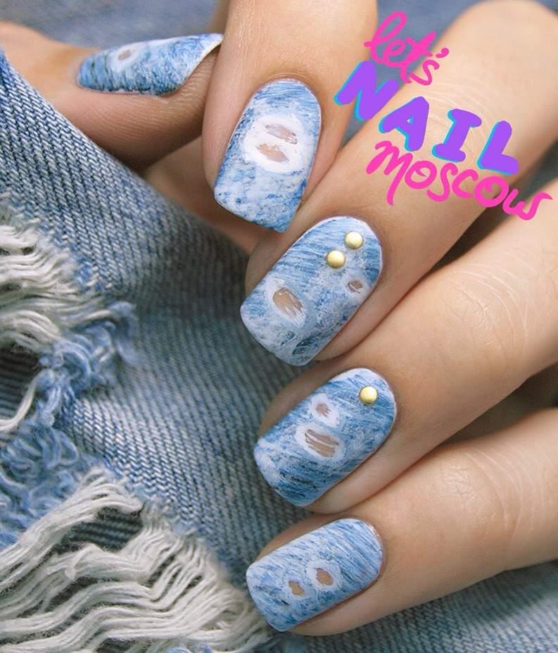 Denim Nails ️👖