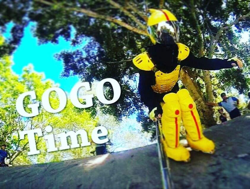 Gogo Hitting Skate Park Cosplay Amino