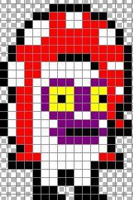 Splatoon Pixel Art Grid