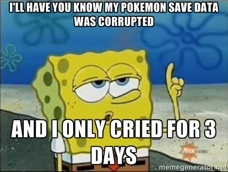 pokemon xd save file corrupted